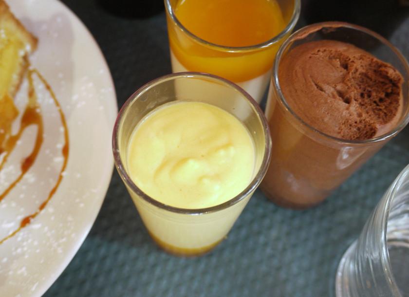 Mango and Chocolate Mousse