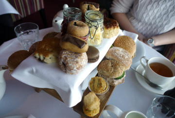 Marco's Italian Afternoon Tea, one side