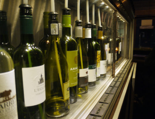 Bakerie wine jukebox