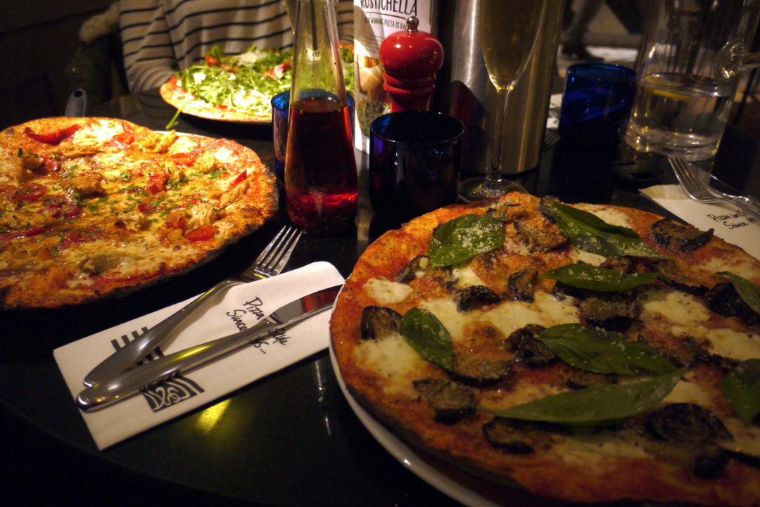 Pizza Express spread