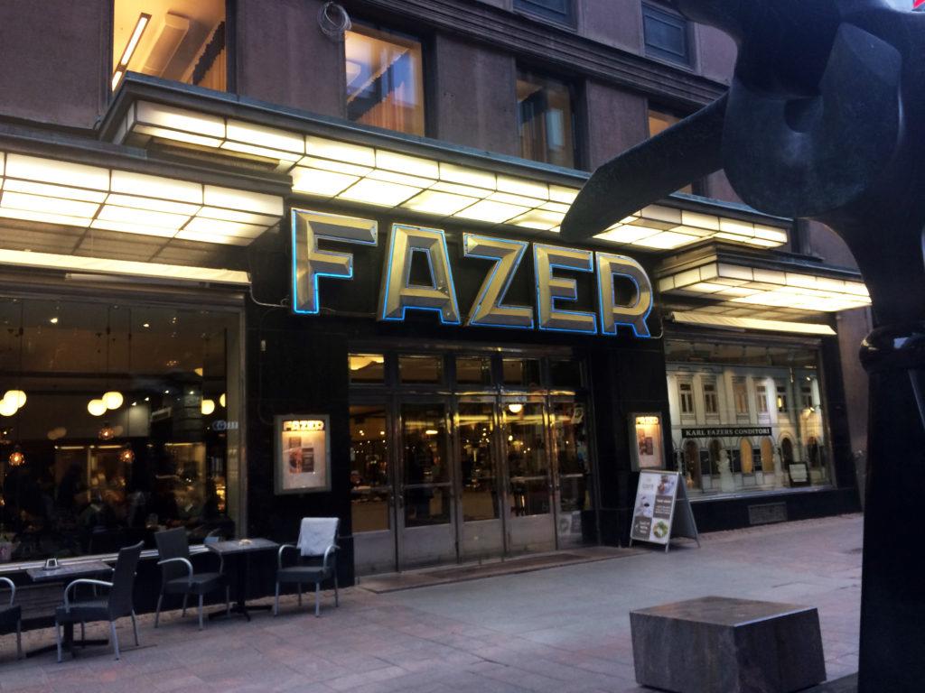 Fazer cafe entrance