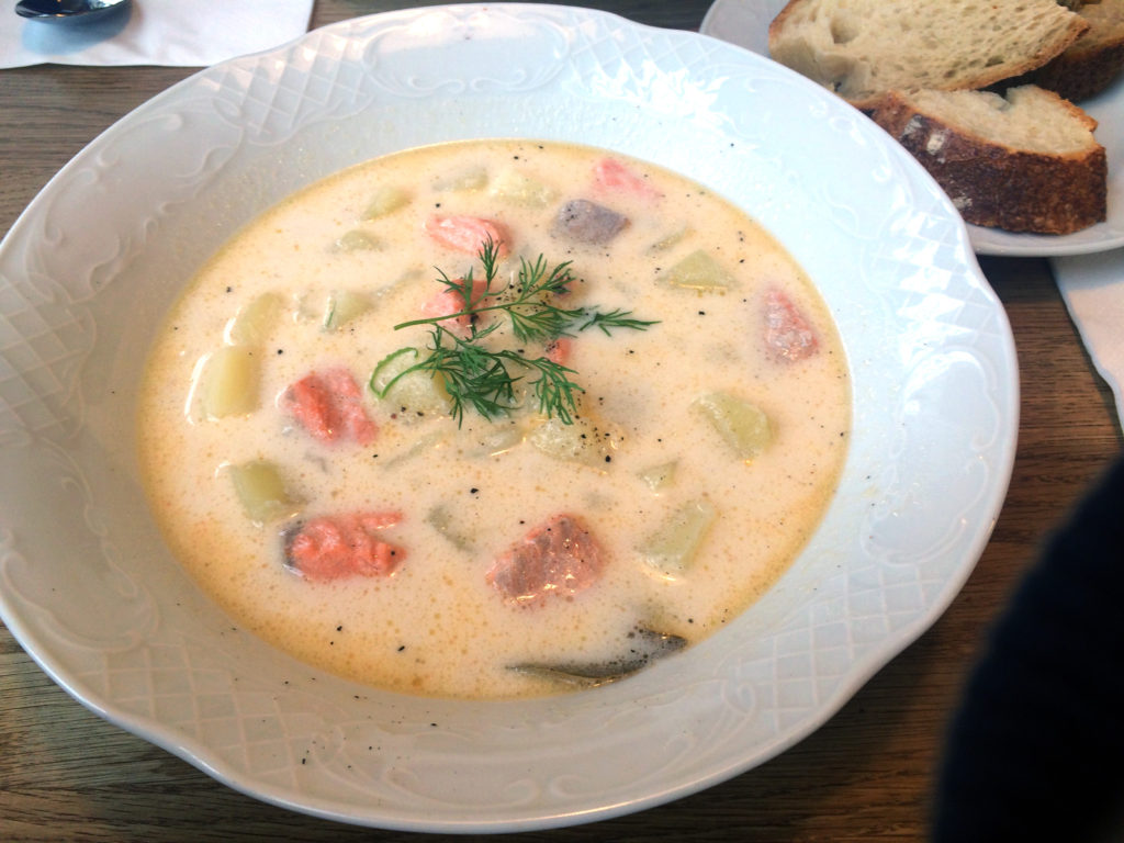Fish soup from Story at the Old Market Hall