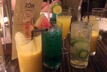 Zouk Spring cocktails