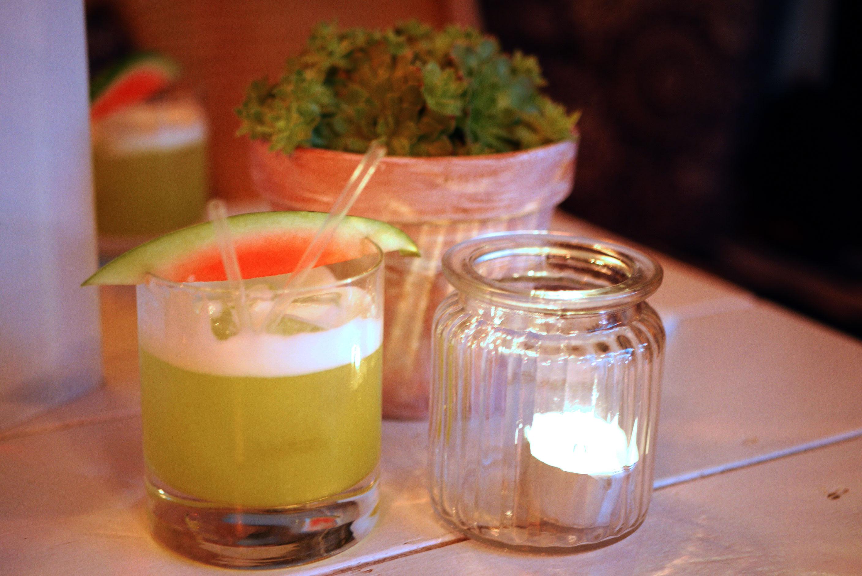 Melon & Coconut Sour - El Dorado 5yr, Midori, coconut syrup, lime juice and pineapple purée £9