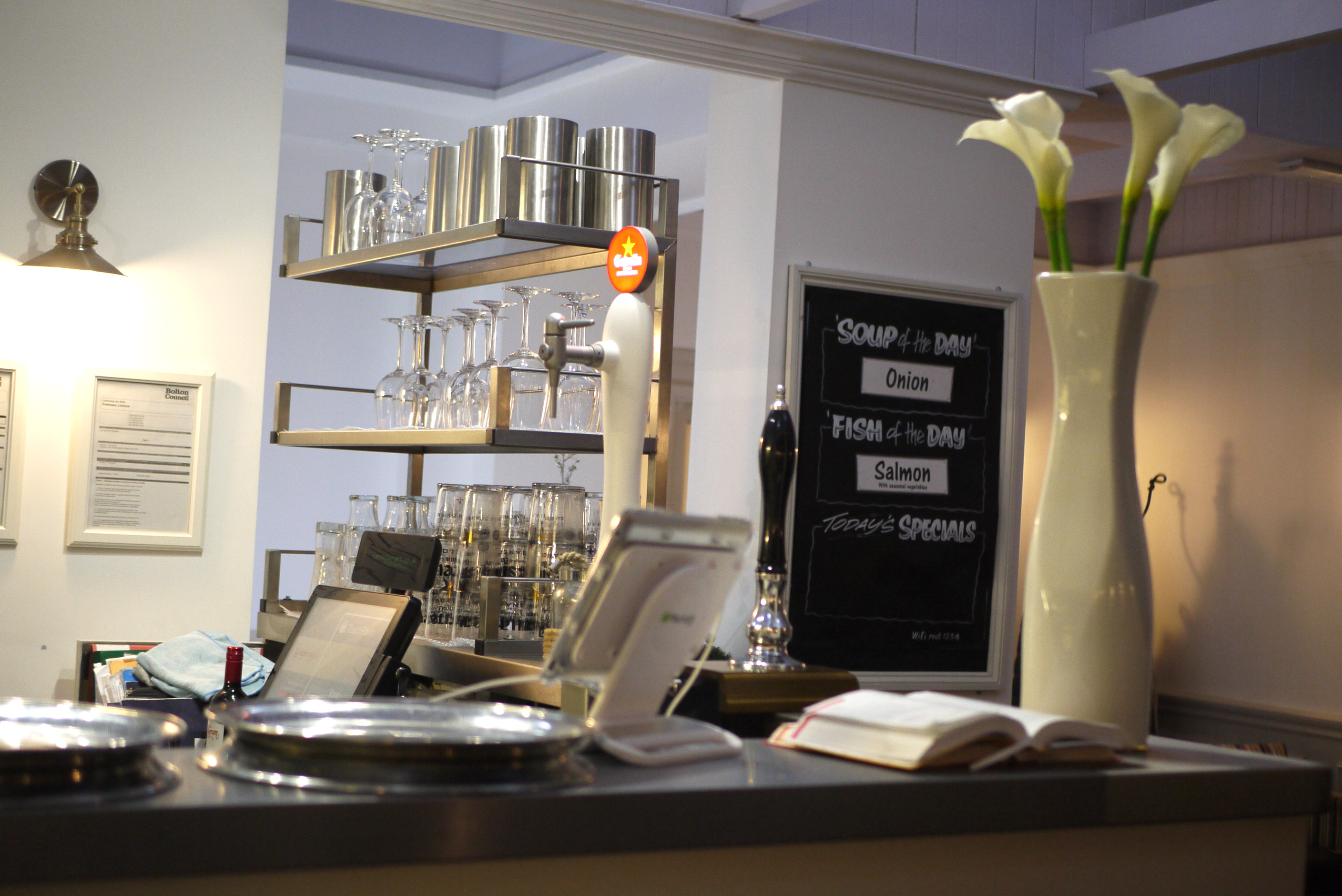 Provenance interior with bar area