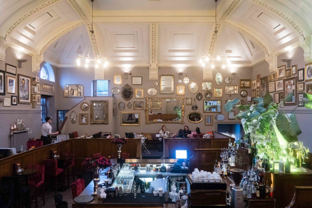 Courthouse: Barrister's restaurant