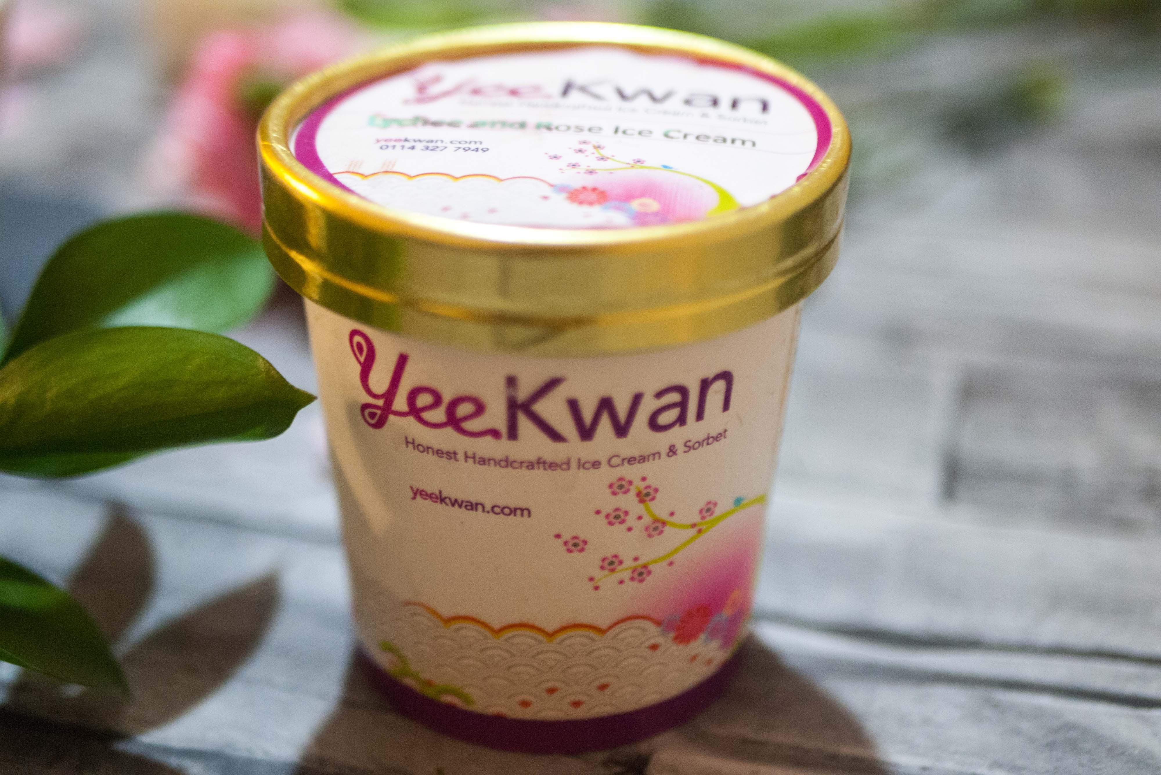 Yee Kwan ice cream tub