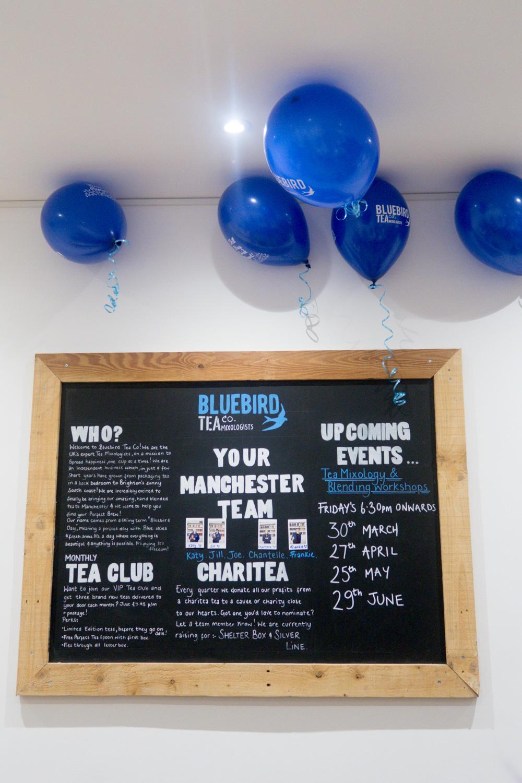 Bluebird Tea Co. main board