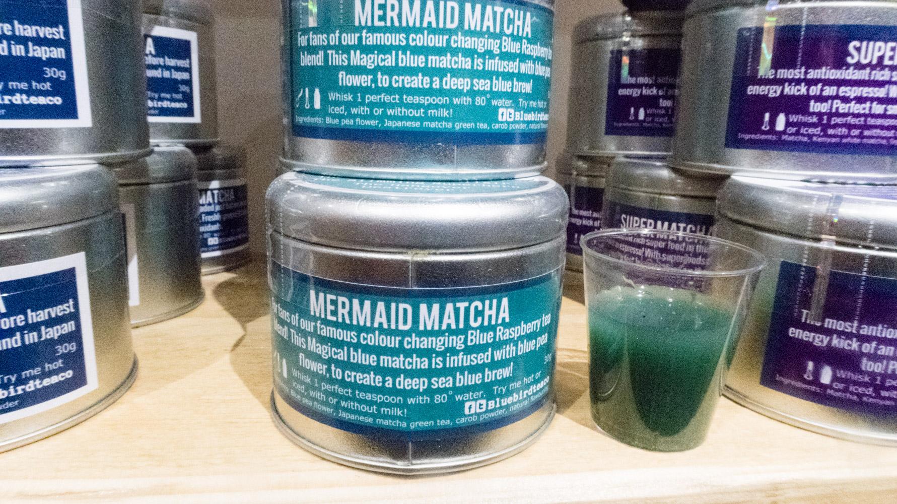 Mermaid matcha