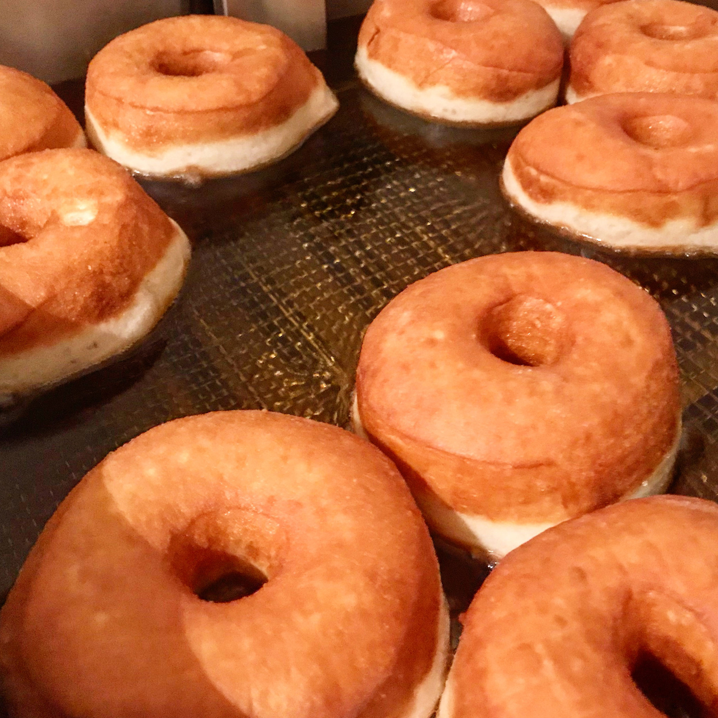 Yes! Doughnuts being created
