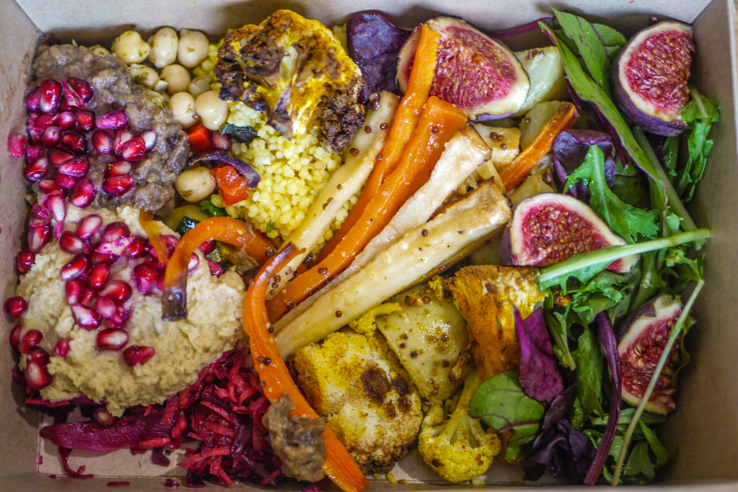 Salad box from Nibble NQ